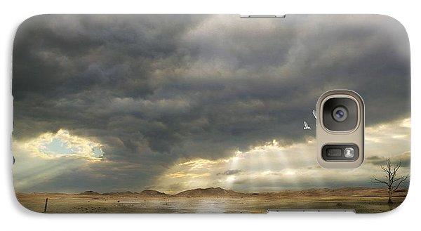 Galaxy Case featuring the digital art Mystical Light by Franziskus Pfleghart