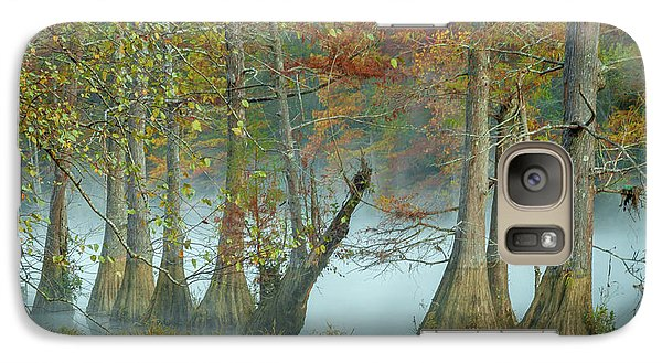 Galaxy Case featuring the photograph Mystical Mist by Iris Greenwell
