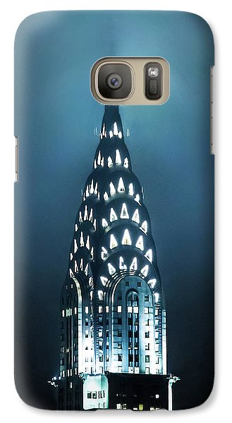 Chrysler Building Galaxy S7 Case - Mystical Spires by Az Jackson