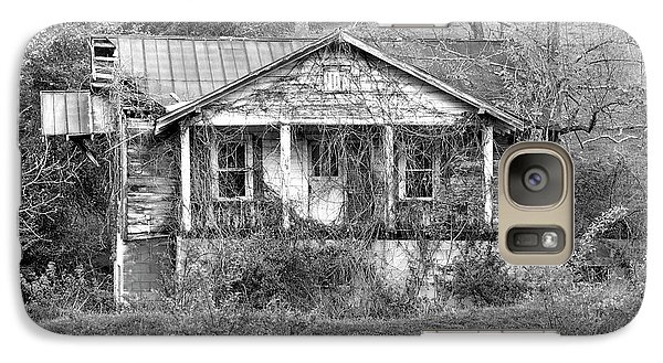 Galaxy Case featuring the photograph N C Ruins 1 by Mike McGlothlen