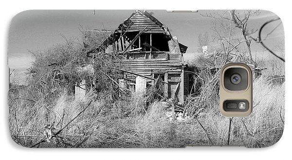 Galaxy Case featuring the photograph N C Ruins 2 by Mike McGlothlen