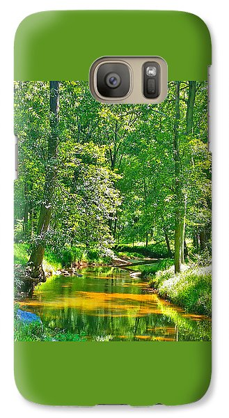 Galaxy Case featuring the photograph Nadine's Creek by Kathy Kelly