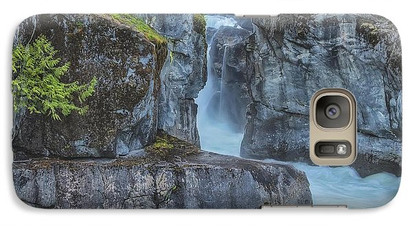 Galaxy Case featuring the photograph Nairn Falls by Jacqui Boonstra