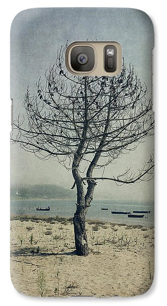 Galaxy Case featuring the photograph Naked Tree by Marco Oliveira