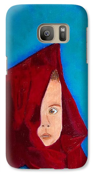 Galaxy Case featuring the painting Nameless by Rod Jellison