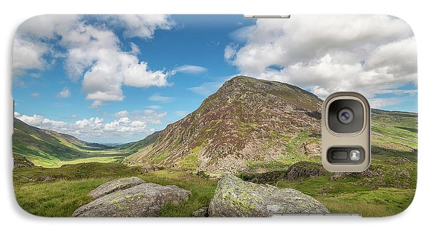 Galaxy Case featuring the photograph Nant Ffrancon Valley, Snowdonia by Adrian Evans