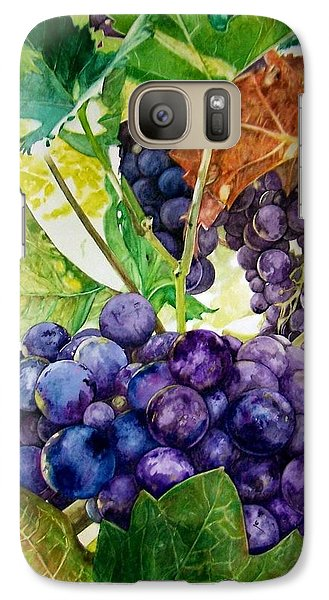 Galaxy Case featuring the painting Napa Harvest by Lance Gebhardt