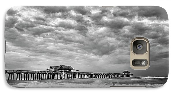 Galaxy Case featuring the photograph Naples Monochrome by Mike Lang