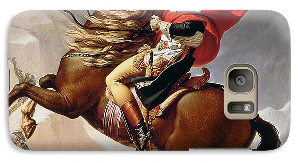 Mount Rushmore Galaxy S7 Case - Napoleon Crossing The Alps by Jacques Louis David