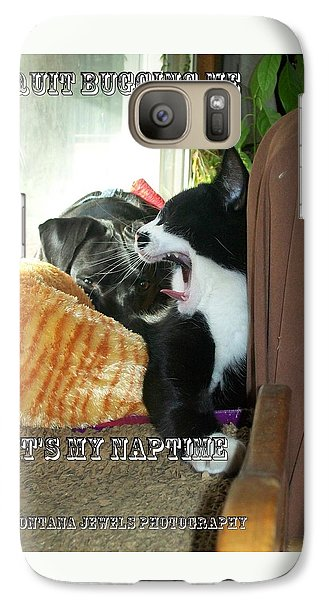 Galaxy Case featuring the photograph Naptime by Jewel Hengen