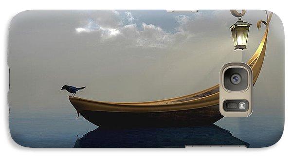 Boat Galaxy S7 Case - Narcissism by Cynthia Decker