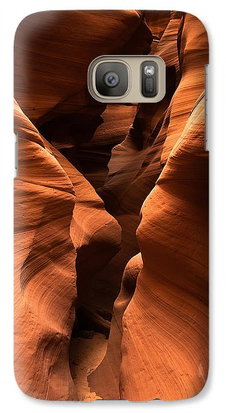 Galaxy Case featuring the photograph Narrow Passage by Carl Amoth