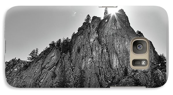 Galaxy Case featuring the photograph Narrows Pinnacle Boulder Canyon by James BO Insogna