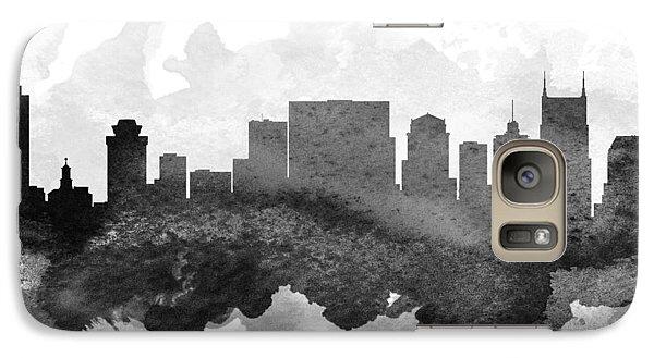 Nashville Cityscape 11 Galaxy S7 Case by Aged Pixel