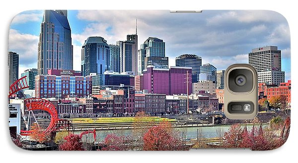 Galaxy Case featuring the photograph Nashville Clouds by Frozen in Time Fine Art Photography