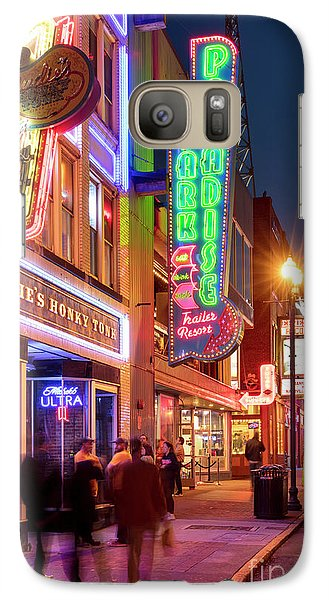 Galaxy Case featuring the photograph Nashville Signs II by Brian Jannsen