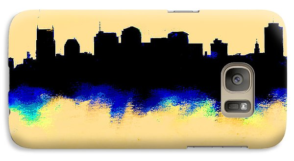 Nashville  Skyline  Galaxy S7 Case by Enki Art