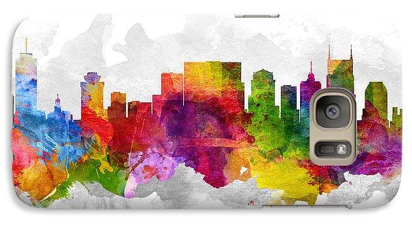 Nashville Tennessee Cityscape 13 Galaxy S7 Case