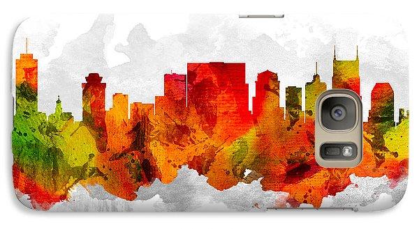 Nashville Tennessee Cityscape 15 Galaxy S7 Case
