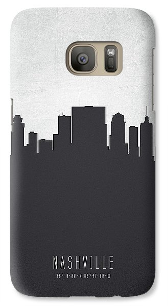 Nashville Tennessee Cityscape 19 Galaxy S7 Case by Aged Pixel