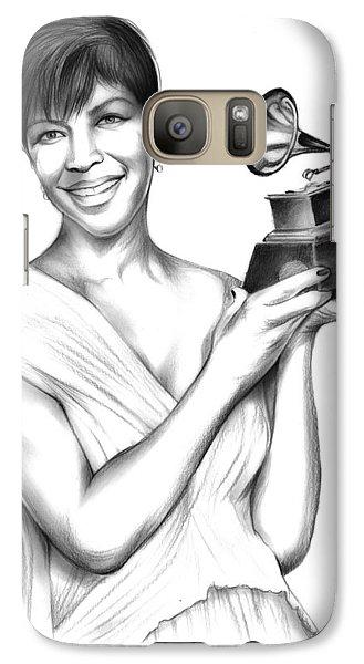 Natalie Cole Galaxy S7 Case by Greg Joens
