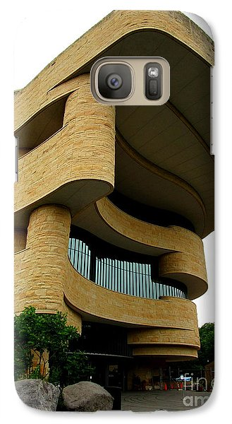 Smithsonian Museum Galaxy S7 Case - National Museum Of The American Indian 1 by Randall Weidner