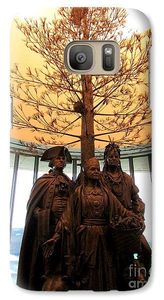Smithsonian Museum Galaxy S7 Case - National Museum Of The American Indian 7 by Randall Weidner