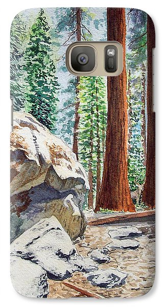 National Park Sequoia Galaxy S7 Case