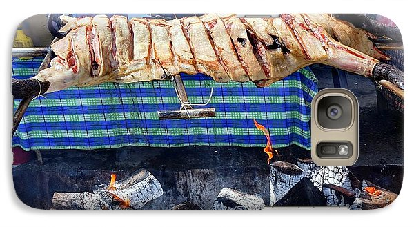 Galaxy Case featuring the photograph Native Barbecue In Taiwan by Yali Shi