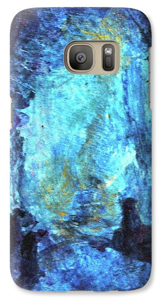 Galaxy Case featuring the painting Nativity by Mary Sullivan