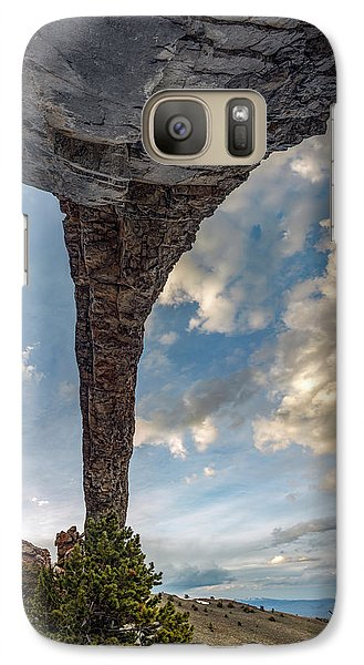 Galaxy Case featuring the photograph Natural Arch 2 by Leland D Howard