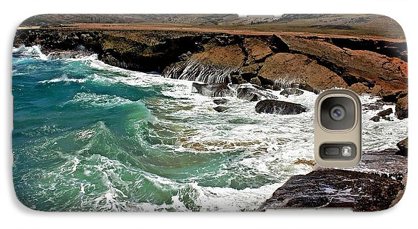 Galaxy Case featuring the photograph Natural Bridge Aruba by Suzanne Stout