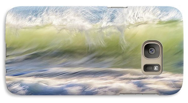 Galaxy Case featuring the photograph Natural Chaos, Quinns Beach by Dave Catley