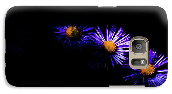 Galaxy Case featuring the digital art Natural Fireworks by Timothy Hack