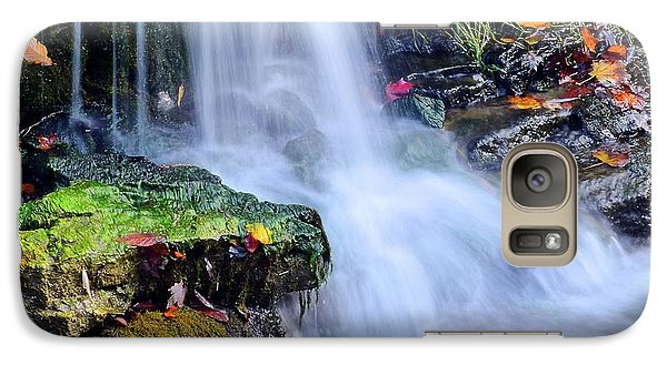 Galaxy Case featuring the photograph Natural Flowing Water by Frozen in Time Fine Art Photography