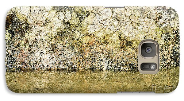 Galaxy Case featuring the photograph Natural Stone Background by Torbjorn Swenelius