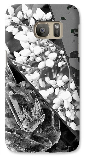 Nature Collage In Black And White Galaxy S7 Case