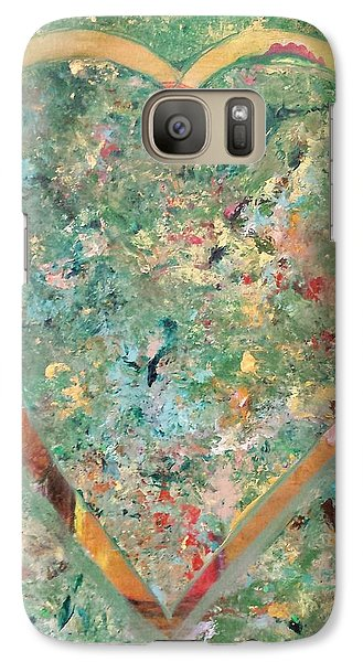 Galaxy Case featuring the painting Nature Lover by Diana Bursztein