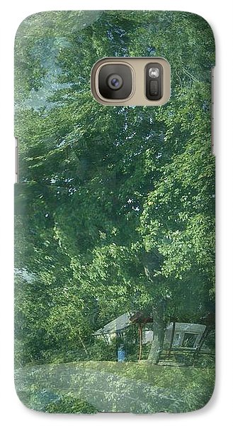 Galaxy Case featuring the photograph Nature Trees Fractal by Skyler Tipton