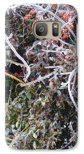 Galaxy Case featuring the photograph Natures Art  by Kristine Nora