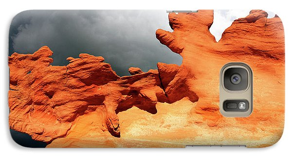 Galaxy Case featuring the photograph Nature's Artistry Nevada 2 by Bob Christopher