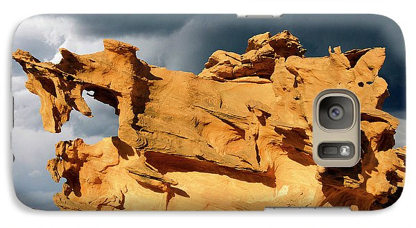 Galaxy Case featuring the photograph Nature's Artistry Nevada 3 by Bob Christopher