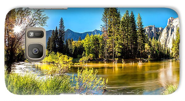 Yosemite National Park Galaxy S7 Case - Nature's Awakening by Az Jackson