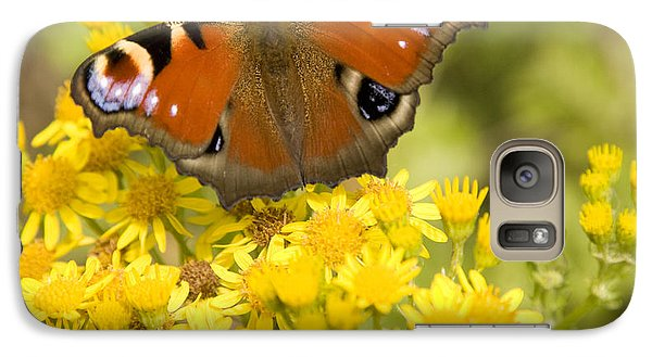 Galaxy Case featuring the photograph Nature's Beauty by Ian Middleton