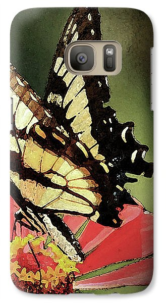 Galaxy Case featuring the digital art Nature's Beauty by Kim Henderson