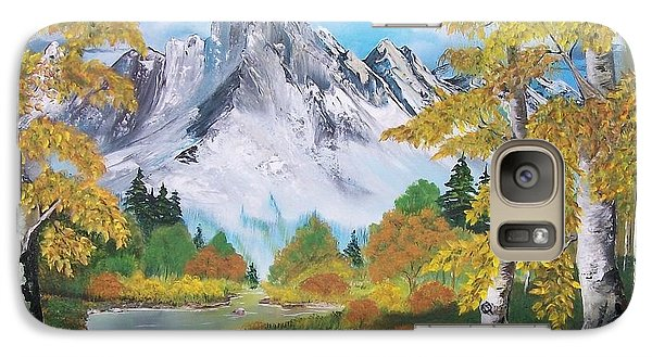 Galaxy Case featuring the painting Nature's Beauty by Sharon Duguay