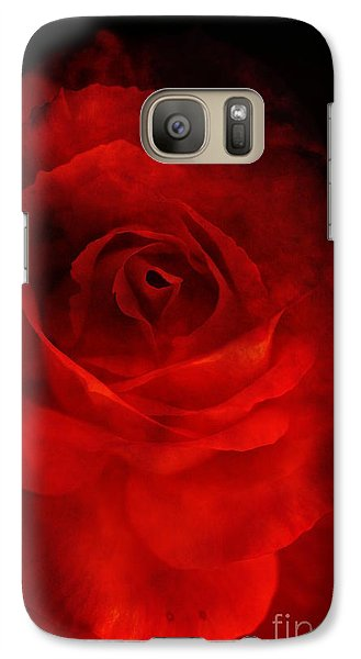 Galaxy Case featuring the photograph Natures Flame by Stephen Mitchell