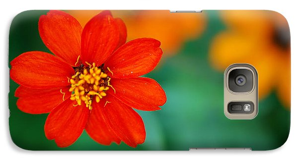 Galaxy Case featuring the photograph Nature's Glow by Debbie Karnes