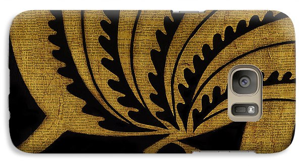 Galaxy Case featuring the mixed media Nature's Grace by Gloria Rothrock