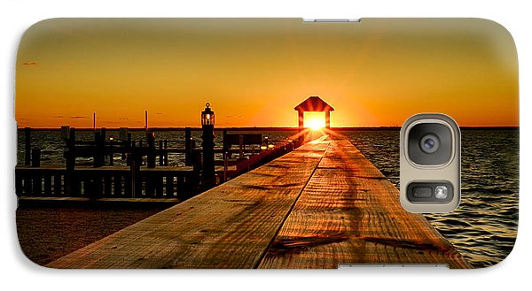 Galaxy Case featuring the photograph Nature's Lantern by Mark Miller